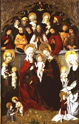 The Family of the Virgin, 1497