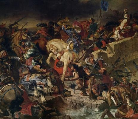 The Battle of Taillebourg, 21st July 1242, 1837