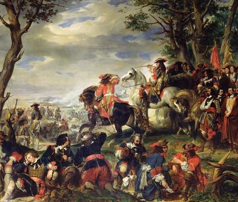 Battle of Marseilles, 4th October 1693, 1837