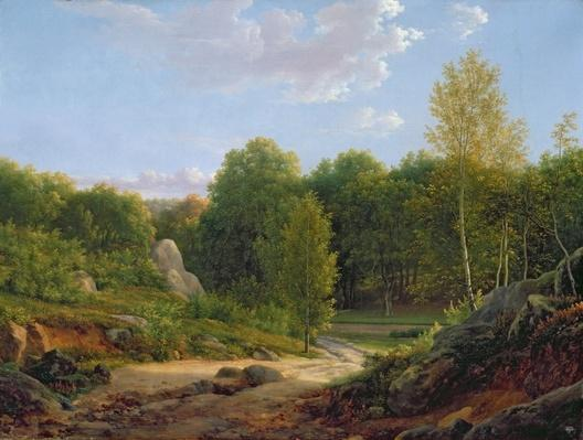 View of Fontainebleau Forest, 1829