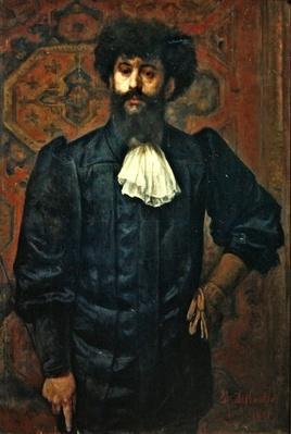 Portrait of Joseph Peladen, 1891