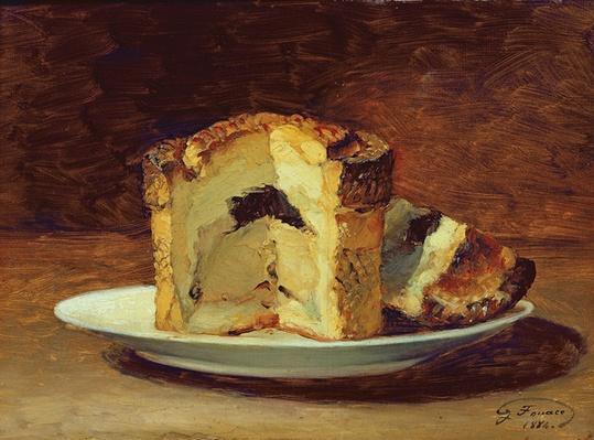 Still life of pie, 1884