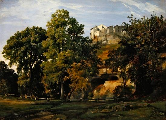 Landscape, view of Marino, 1826