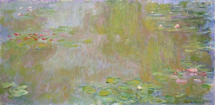 Waterlilies at Giverny, 1917