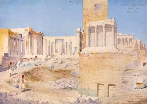 The Acropolis at Athens, 1844