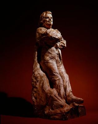 Study of Balzac in frock coat, 1892-95