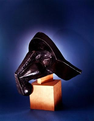 Head of a Horse, 1914 by Duchamp-Villon, Pierre-Maurice-Raymond (1876-1918)