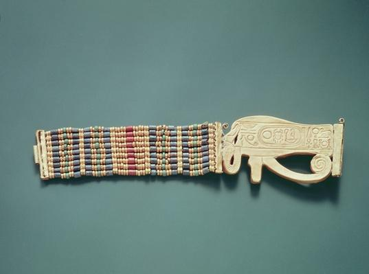 Flexible bead bracelet, from the Tomb of Tutankhamun, New Kingdom