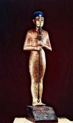 Figure of the god Ptah, from the Tomb of Tutankhamun, New Kingdom
