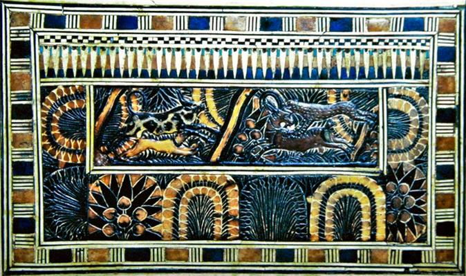 Coffer, from the Tomb of Tutankhamun, New Kingdom