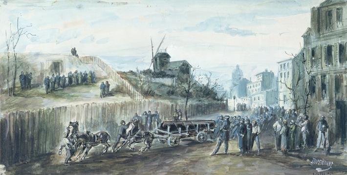 Incident during the Paris Commune of 1870