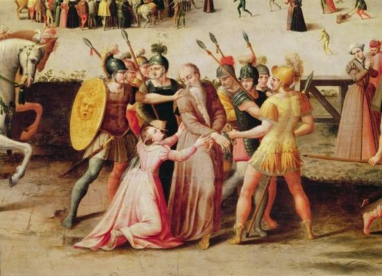 The Arrest of Sir Thomas More in 1535