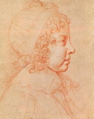 Portrait of Louis XIV as a child