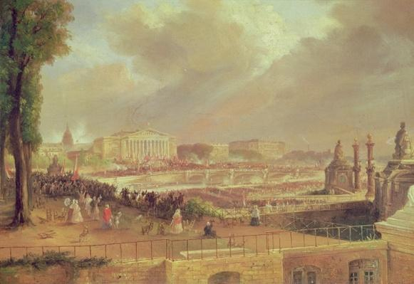 Proclamation of the Second French Republic, Place de la Concorde, February 24, 1848