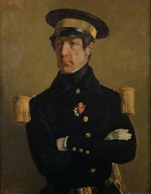 Pierre Claude Aimable Gachot, Naval Lieutenant, c. 1845