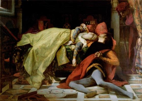 Death of Francesca da Rimini and Paolo Malatesta, 1870