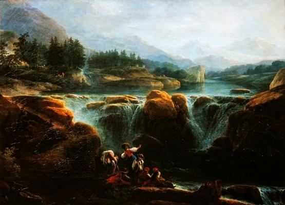 Swiss landscape, c.1790-94