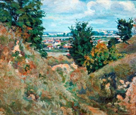 Valley near Paris