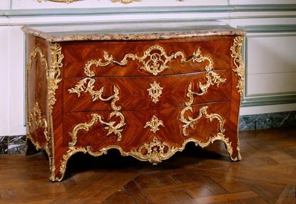 Louis XV commode, 1745
