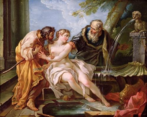 Suzanna and the Elders, 1746