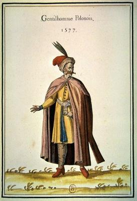 Polish nobleman, 1577