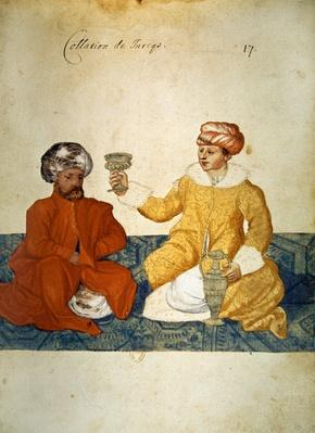 A light Turkish meal, 1567