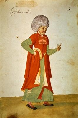 Turkish courtier, 1567
