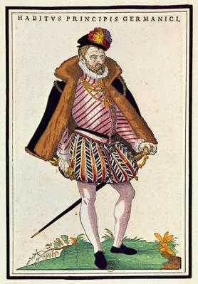 German nobleman, 1572