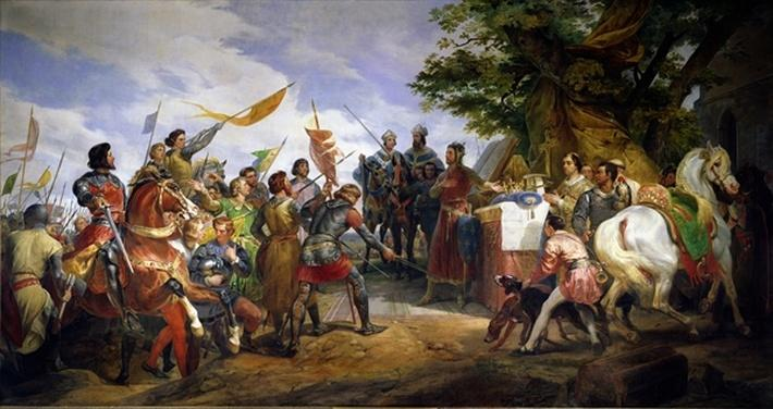 The Battle of Bouvines, 27th July 1214, 1827