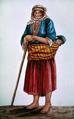 A peasant mother