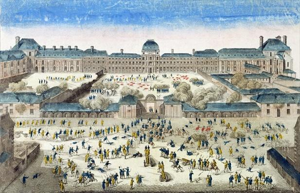 Siege of the Chateau des Tuileries, 10th August 1792
