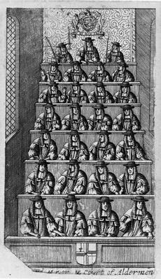 Court of Aldermen, c.1690