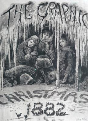 Front cover of 'The Graphic', Christmas 1882