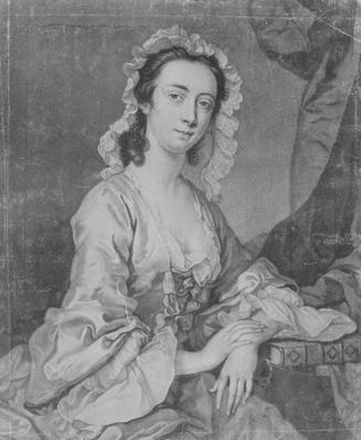Margaret Woffington, engraved by John Faber Jr