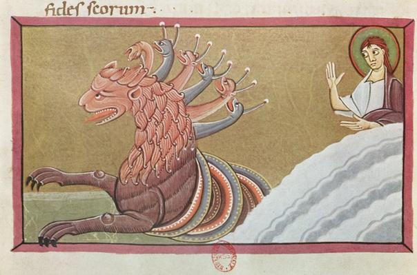 The Sea Monster, facsimile of the Bamberg Apocalypse