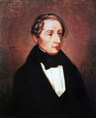 Portrait of Carl Maria von Weber, 1819