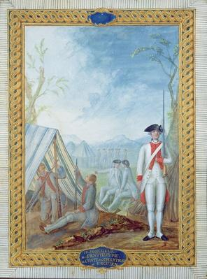Uniforms of the French Infantry during the American War of Independence