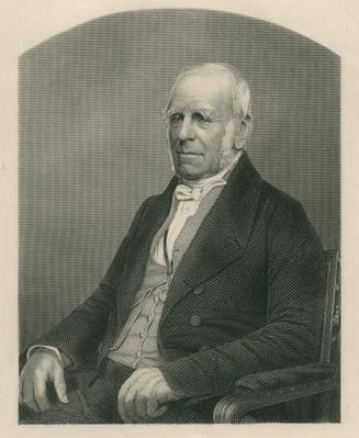 Henry Petty-Fitzmaurice, 3rd Marquis of Lansdowne, engraved by D.J. Pound from a photograph, from 'The Drawing-Room of Eminent Personages, Volume 2', published in London, 1860