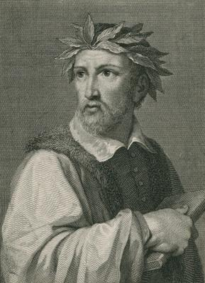 Torquato Tasso from 'The Gallery of Portraits', published 1833