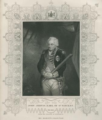 Sir John Jervis in 1795
