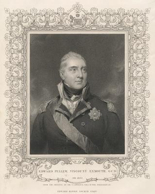 Admiral Sir Edward Pellew, c.1810
