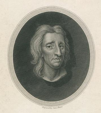 John Locke, engraved by James Basire
