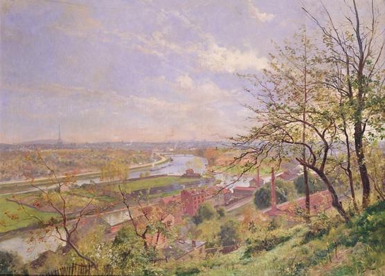 View of Boulogne sur Seine, c.1900
