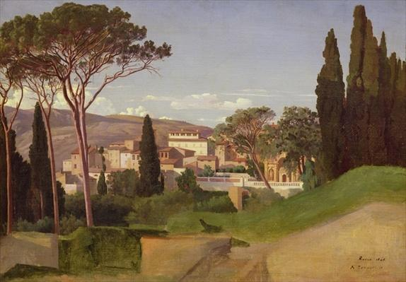 View of a Roman Villa, 1844
