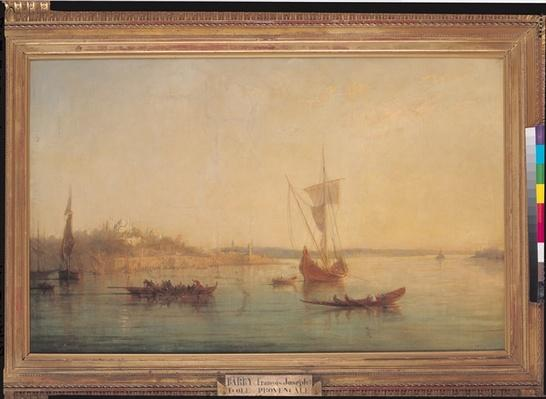 The Mouth of the Bosphorus at Constantinople, 1869