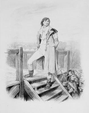 Sydney Carton, from 'Charles Dickens: A Gossip about his Life', by Thomas Archer, published c.1894