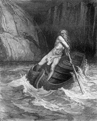 Charon, the Ferryman of Hell, from The Divine Comedy