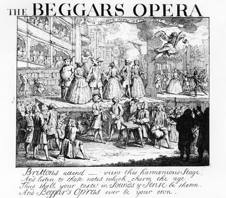The Beggar's Opera Burlesqued, 1728