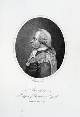 Torbern Olof Bergman, engraved by K. Mackenzie, 1801