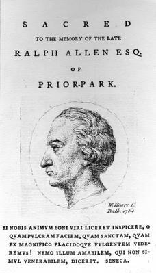 Ralph Allen, 1764